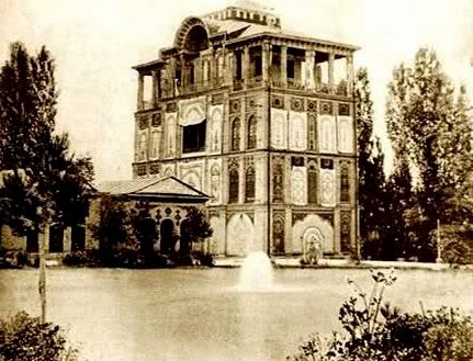 عمارت کلاه فرنگی عشرت آباد تهران-اجاره خودرو-اجاره ماشین