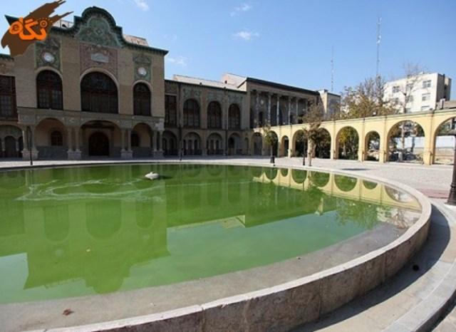 عمارت مسعودیه تهران - اجاره خودرو - اجاره ماشین